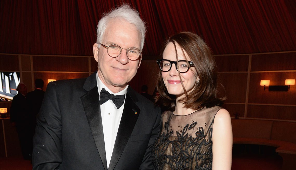 Steve martin anne stringfield age difference