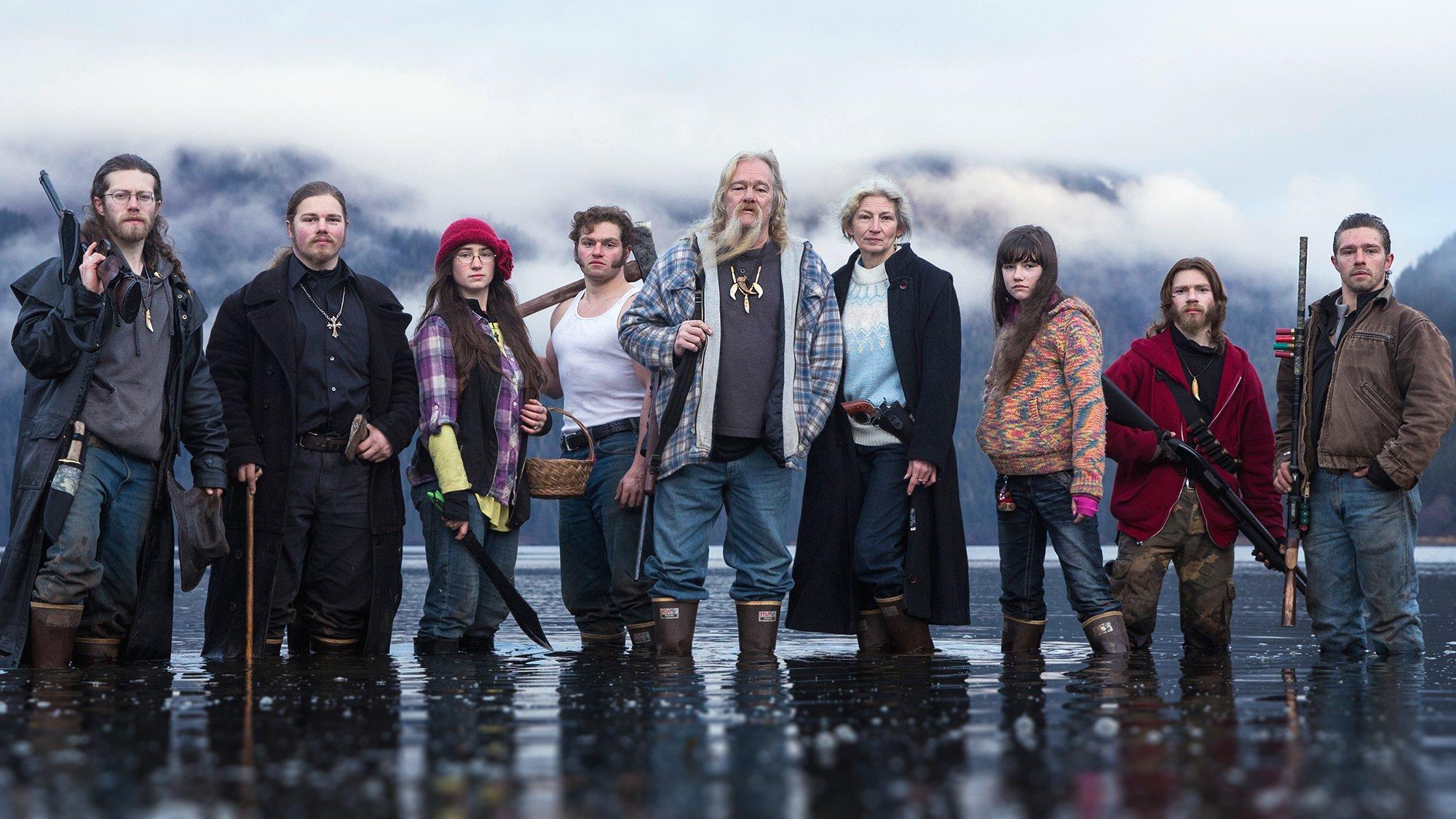 Familie Brown Alaska