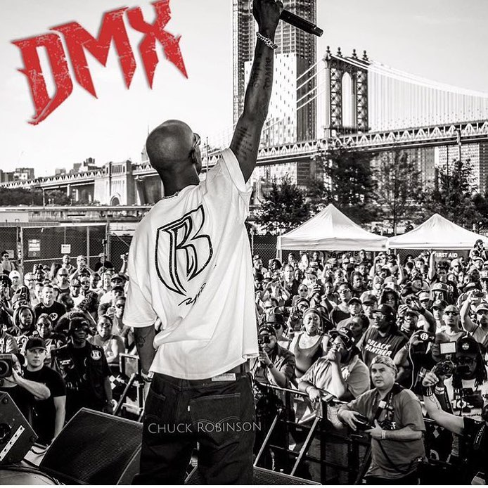 DMX performed in the concert