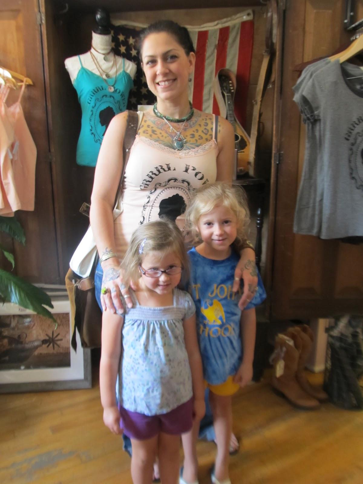Danielle Colby's kids