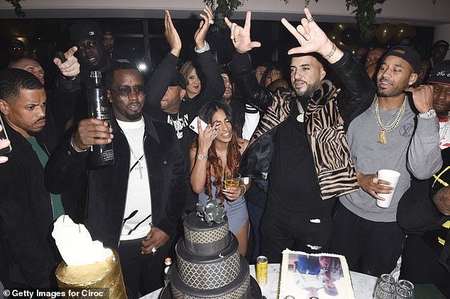 French Montana celebrated his 34th birthday