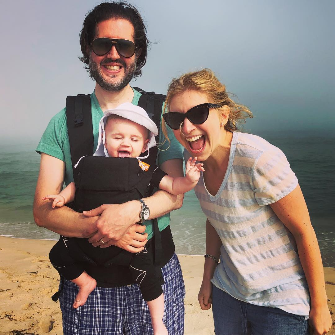 Sara and Matthew with their younger son
