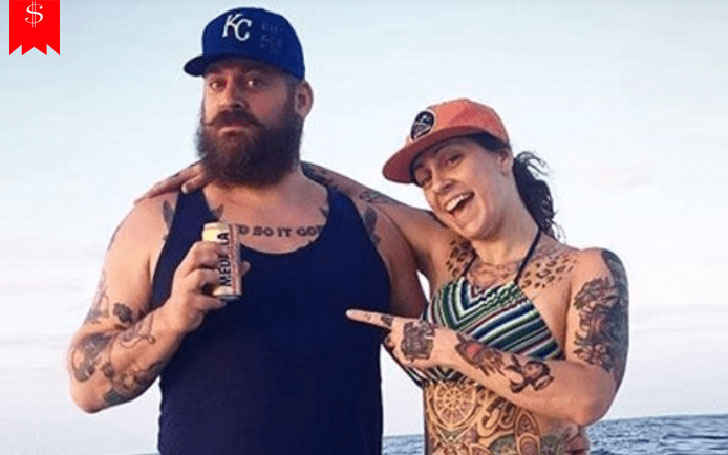 Alexander De Meyer and ex-wife, Danielle Colby