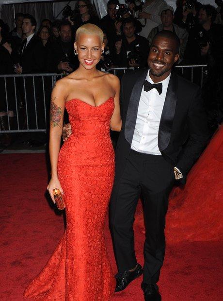 Kanye and ex-girlfrien, Amber Rose