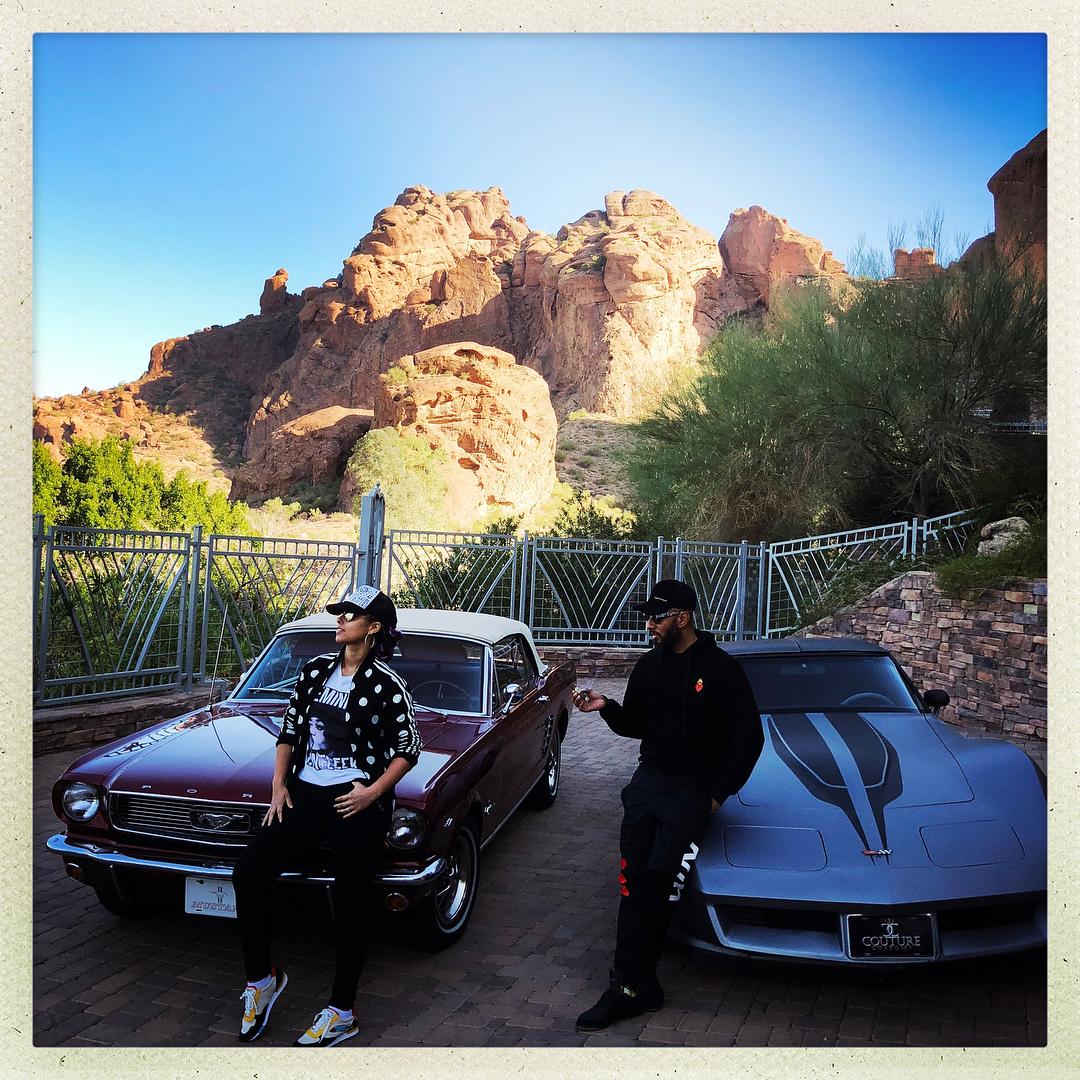 Alicia and Swizz's Cars