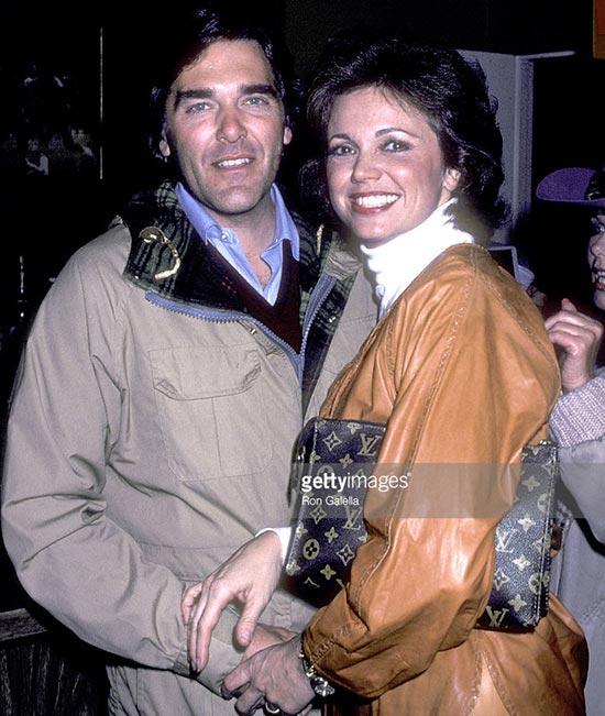 Chuck Woolery with ex-wife Jo Ann Pflug
