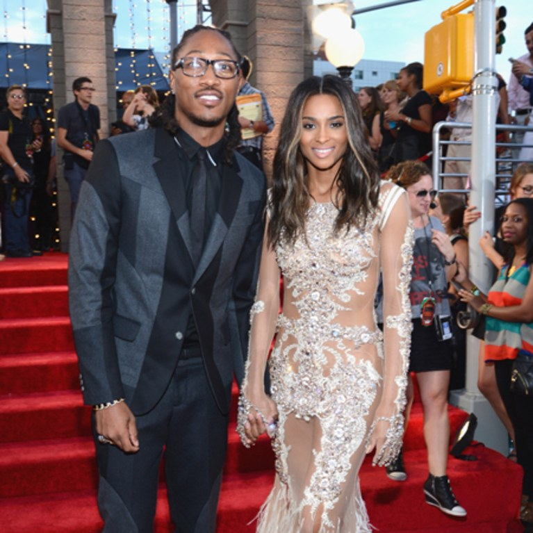 Future and ex-girlfriend, Ciara