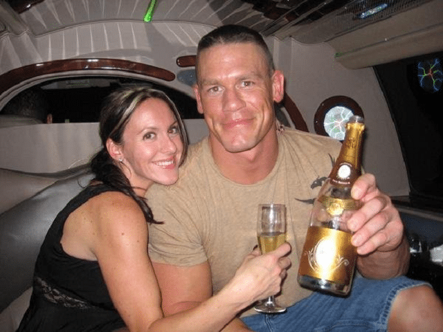 John Cena and ex-wife, Elizabeth Huberdeau