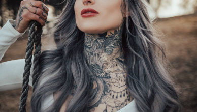 Ryan Ashley, the first female of Inked Master