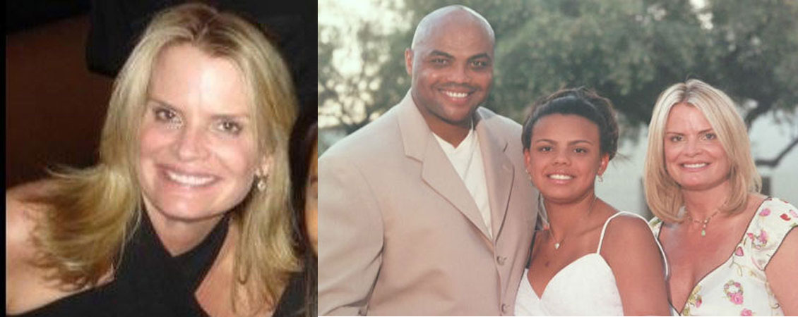 Charles Barkley and Maureen Blumhardt