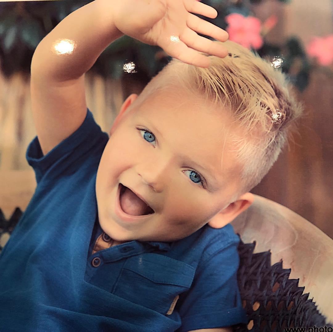 Clint's son, Cash Aaron Bowyer