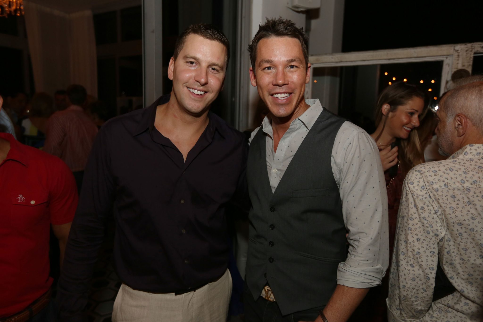 David Bromstad and Jeffery Glasko
