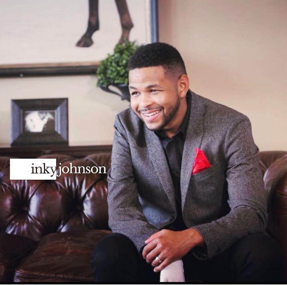 Inky Johnson, a motivational speaker
