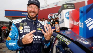Martin Truex Jr., a stock car racing driver