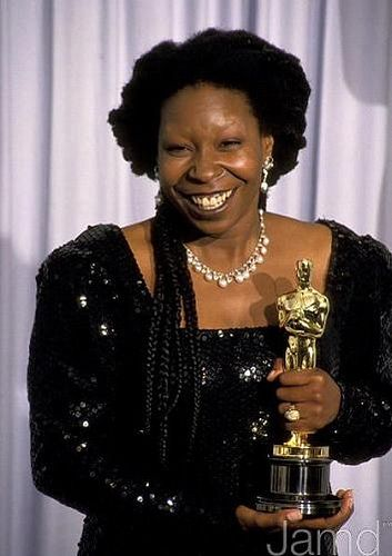 Whoopi eyebrows goldberg no does have why Why does