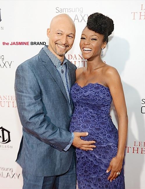 Yaya DeCousta with her ex-husband, Joshua.