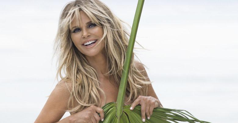 Christie Brinkley magazine, model