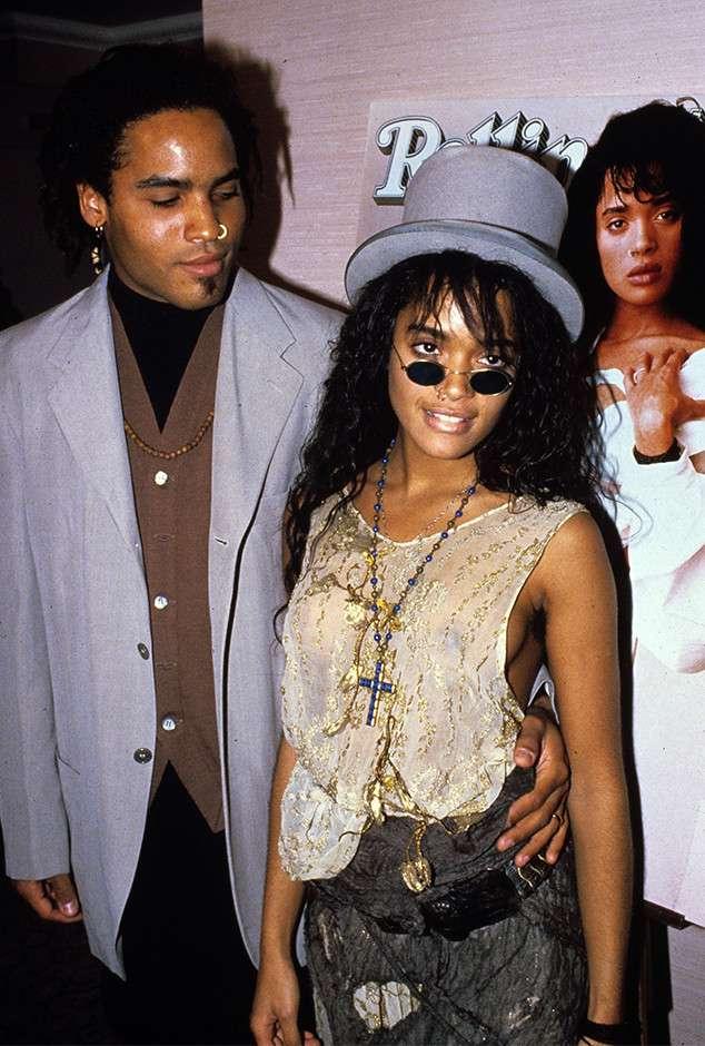 Lisa Bonet and Ex-husband, LennyKravitz
