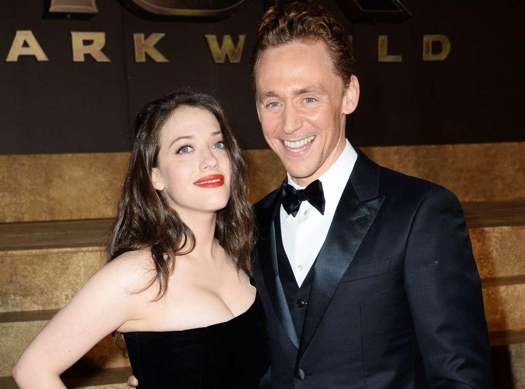 Kat Dennings and Tom Hiddleston