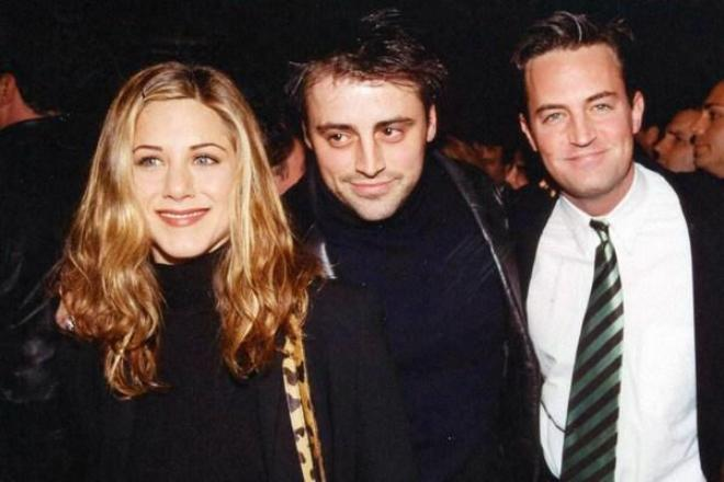 Jennifer Aniston, Matt LeBlanc, And Matthew Perry