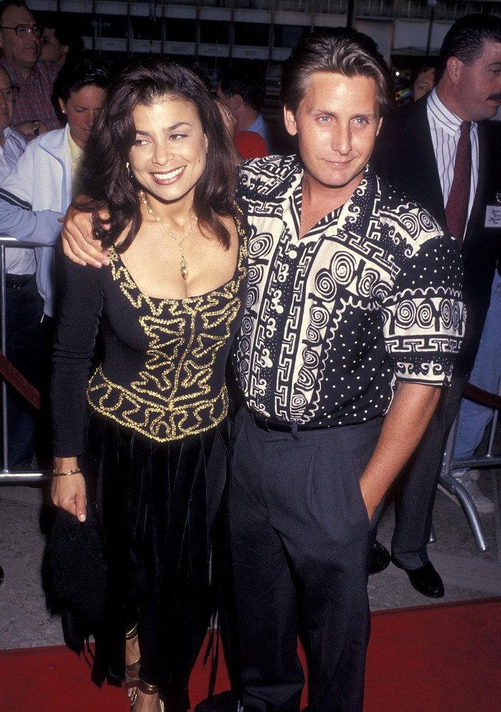 Emilio Estevez and ex-wife, Paula Abdul