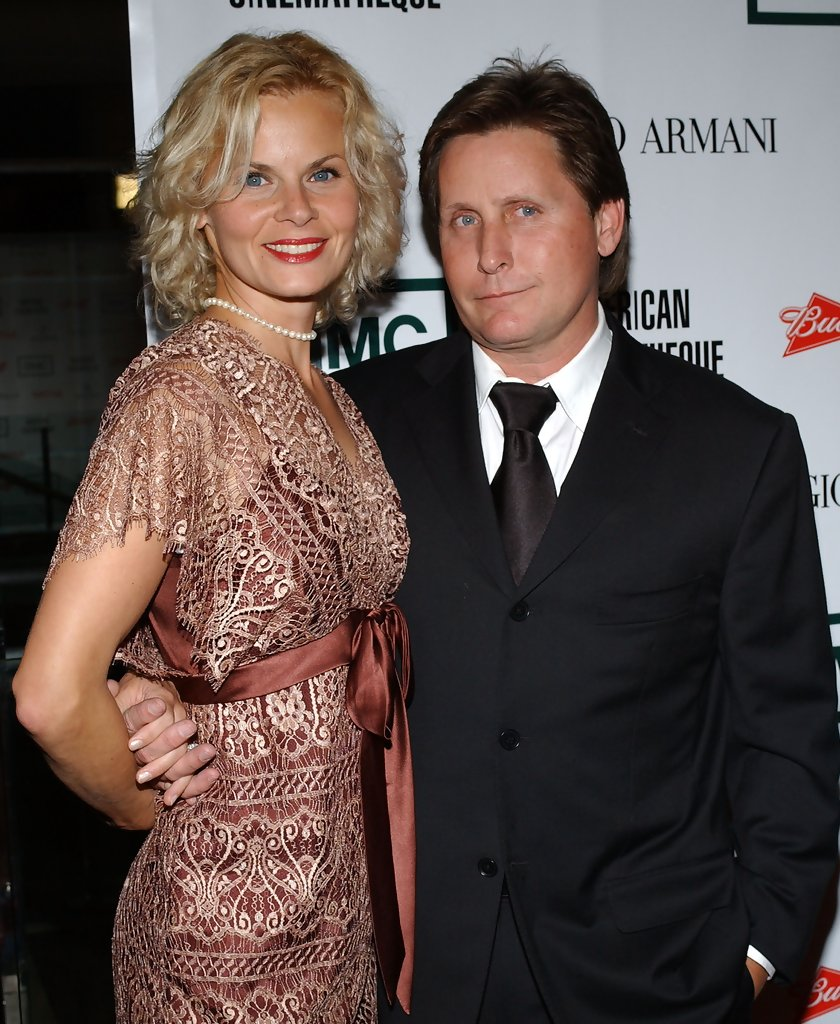 Emilio and ex-fiancee, Sonja