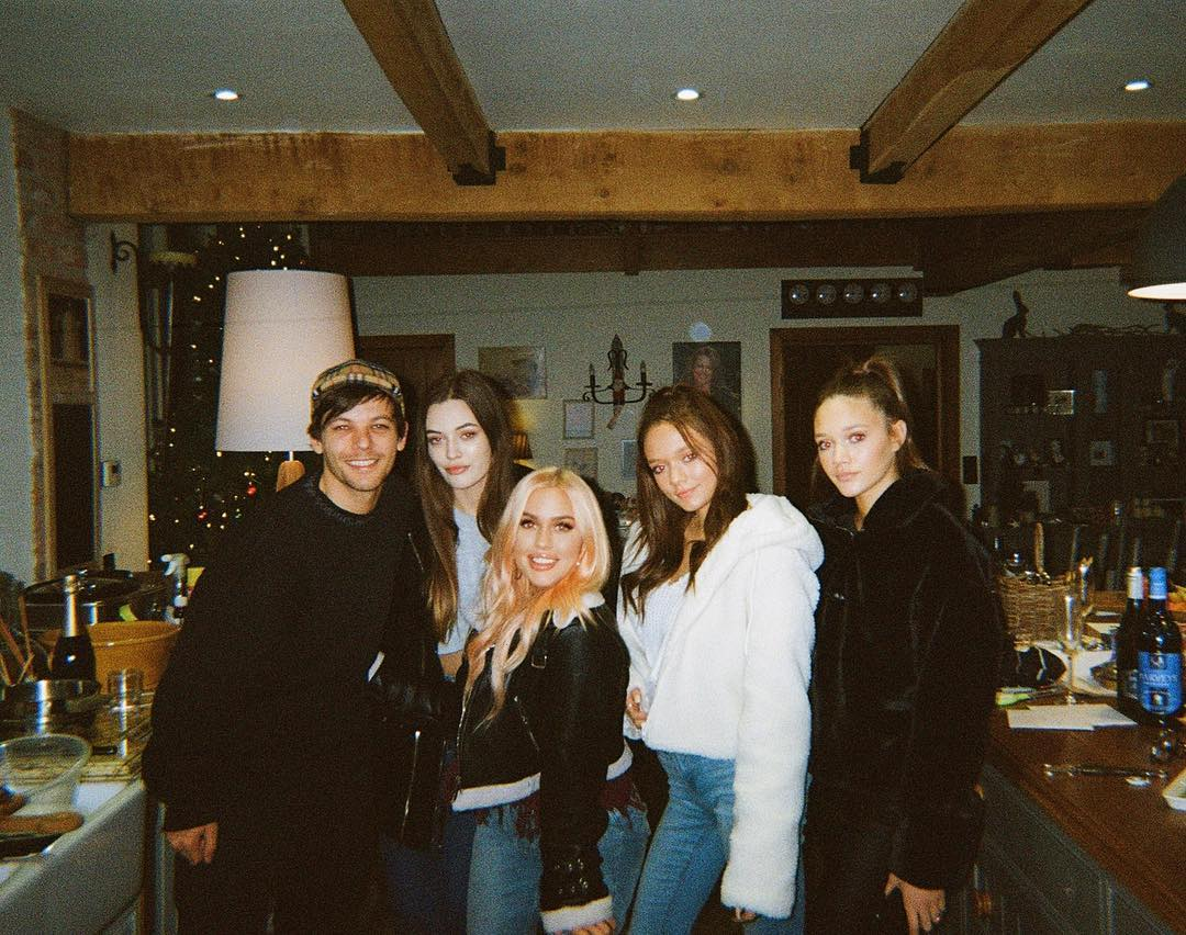 Felicite with her siblings