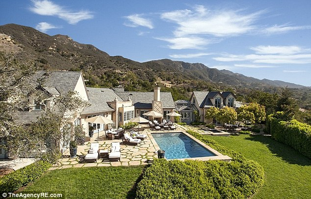 Kelley and Don's California mansion