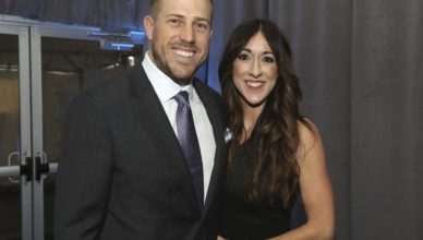 Kimberly with her husband Case Keenum