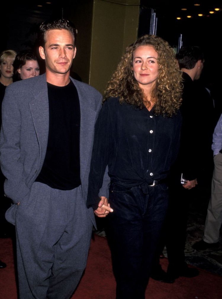 Luke Perry and ex-wife Minnie Sharp