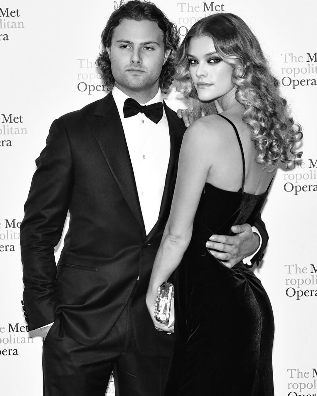Nina with her boyfriend Jack