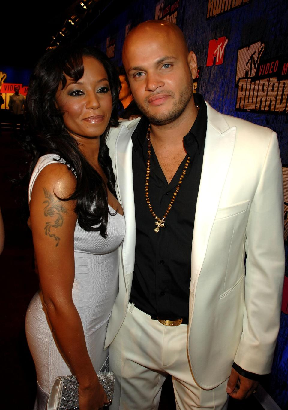 Stephen and Ex-wife, Mel B