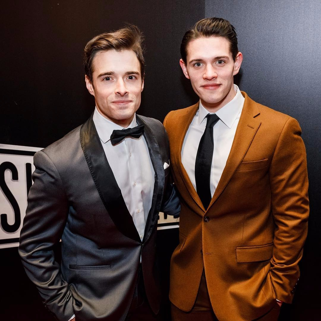 Casey Cott and an older brother, Corey Cott