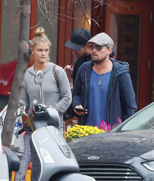 Nina Agdal and then-boyfriend, Leonardo Dicaprio