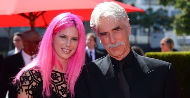 Sam Elliott and his daughter Cleo Rose Elliott