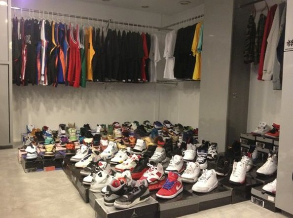Chumlee's shoe collection