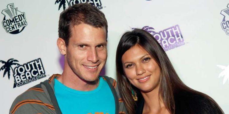 Daniel Tosh and Megan Abrigo