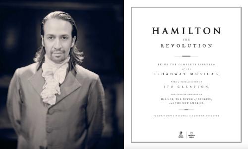 Line co-worte a book, Hamilton: The Revolution (2016)