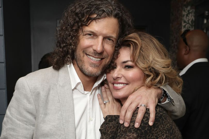 Shania and Frederic Thiebaud