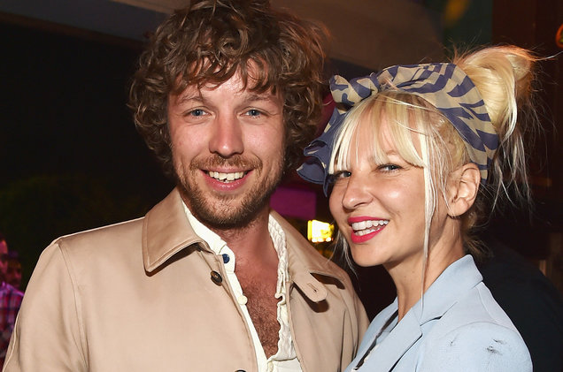 Sia and Ex-husband, Erik Andres Lang