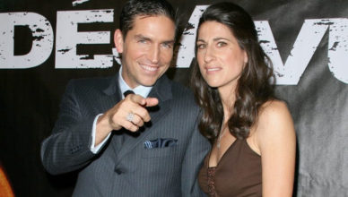 Kerri Browitt and her husband Jim Caviezel