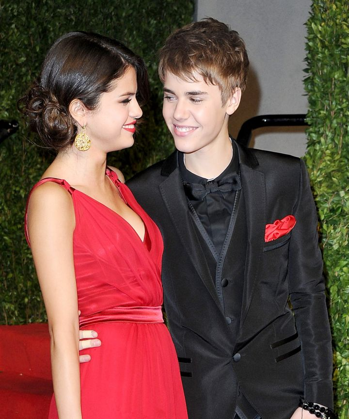 Selena Gomez and former boyfriend, Justin Bieber