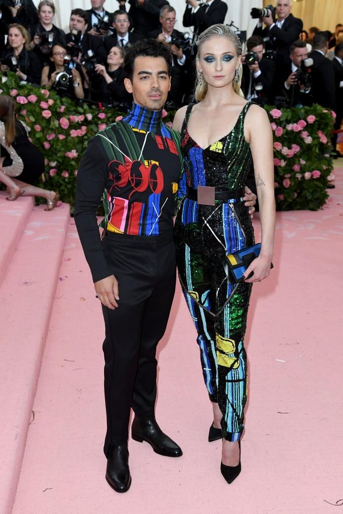 Sophie Turner and Joe Jonas at 2019 Met Gala