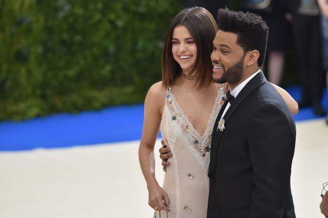 Selena Gomez with ex-boyfriend, The Weeknd