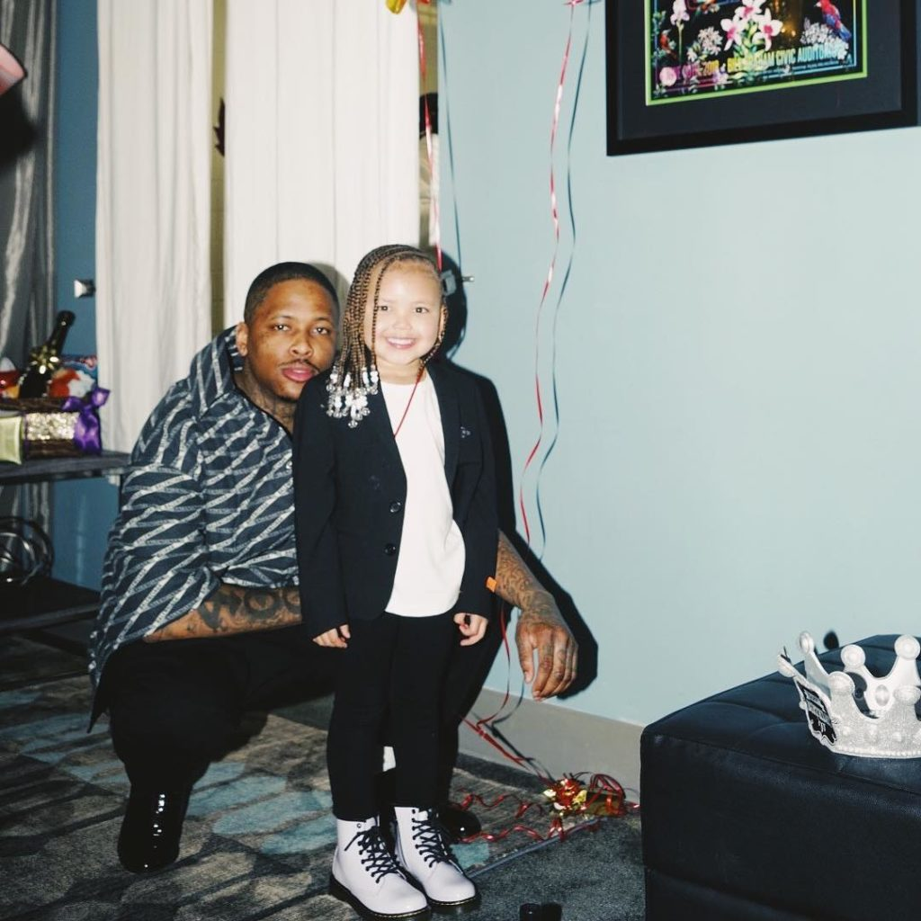 YG's daughter, Harmony