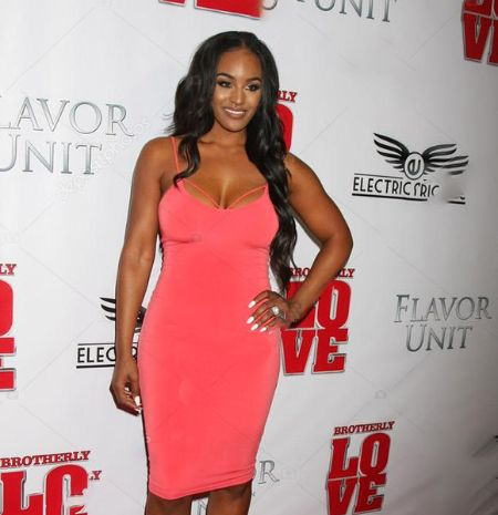 She is mainly recognized for being featured on the VH1 reality show Basketball Wives LA.