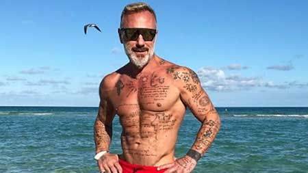 Gianluca Vacchi was born in Bologna, Italy on August 5, 1967.