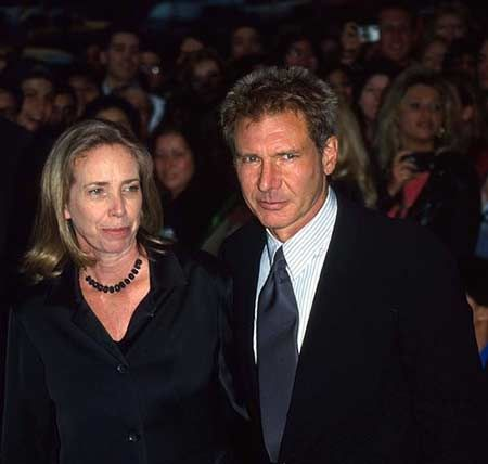 The renowned singer and actor titled Harrison Ford married Mary Marquardt.