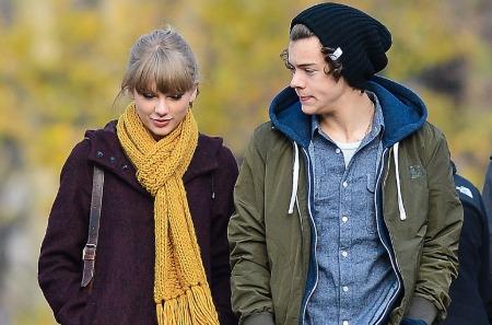 Taylor Swift with ex-boyfriend, Harry Styles