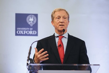 Tom Steyer at Oxford University